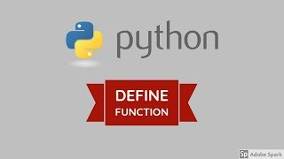 Python for beginners - define function