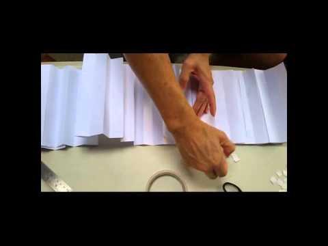 DIY chef hat - YouTube