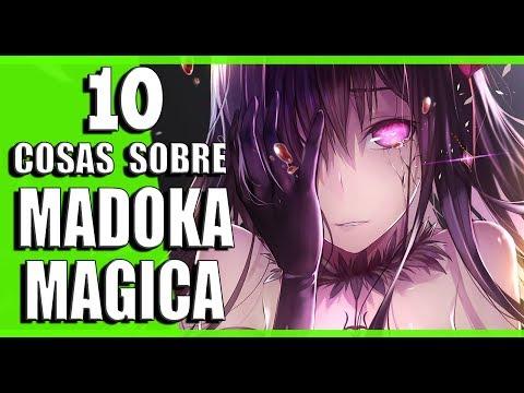 10 COSAS QUE NO SABIAS SOBRE MADOKA MAGICA