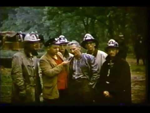 Bucks County Fire School 1958 Video 1