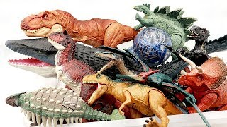 Dinosaur Toys in Amazing Box! Jurassic World, Dino, Real Dinosaurs, Action Figures And More