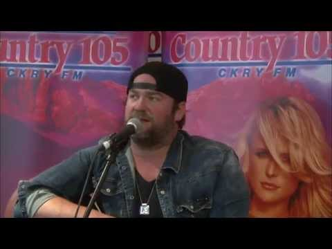 Lee Brice at Country 105
