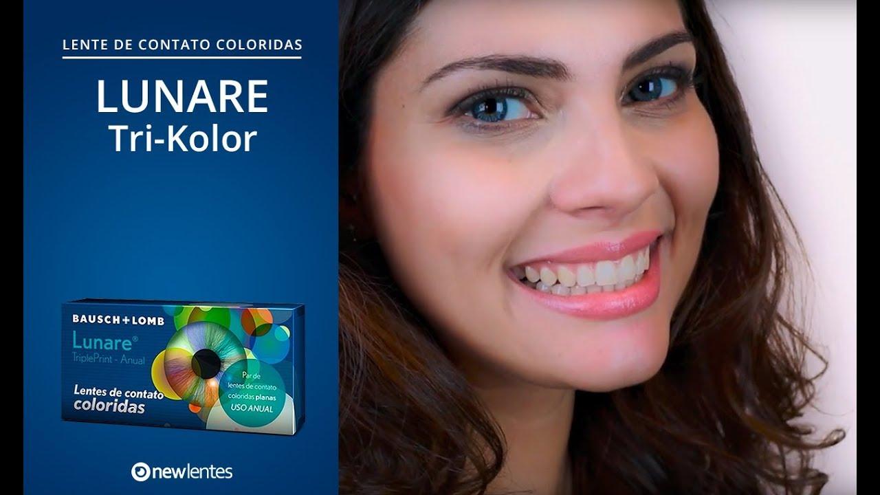 eb0c61c6c02f5 Lentes de contato coloridas LUNARE Tri-Kolor   Descarte anual. NewLentes