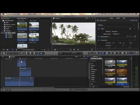 Final Cut Pro X Hindi tutorial, Final Cut Pro 10 Hindi Tutorial Creating projects and basic editing. Travel Video