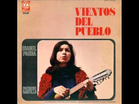 """Isabel Parra & Patricio Castillo - 1974 - """"Vientos del pueblo"""""""