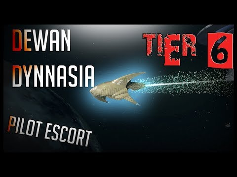 Dewan Dynnasia Pilot Escort [T6] – with all ship visuals – Star Trek Online