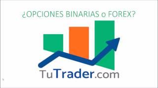 DIFERENCIAS ENTRE OPCIONES BINARIAS Y FOREX