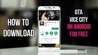 How to download & install GTA Vice City on Android for Free