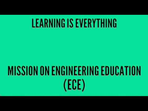 Demo Session: Mission On Engineering Education (ECE)