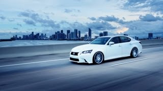 "2013 Lexus GS 350 on 20"" Vossen VVS-CV7 Concave Wheels / Rims"
