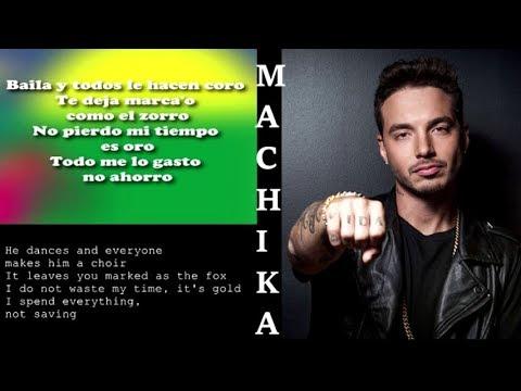 J. BALVIN - Machika Letras (English Translation from spanish) | Jeon, Anitta | Lyrics Meaning