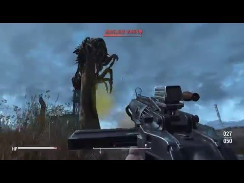 Taking Spectacle Island. Mirelurk Queen Gets Launched