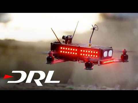 The Drone Racing League launched today - looks insane