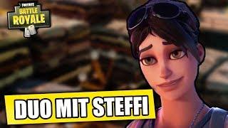 Duo mit Steffi   Fortnite: Battle Royale Deutsch