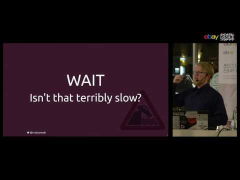 38th eBay Tech talk in Berlin: Raimo Radczewski on EventSourcing & CQRS (Feb 9th, 2017)