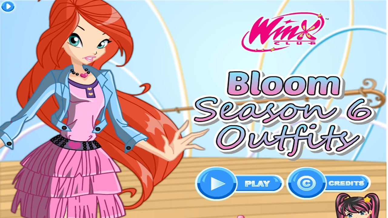 Winx Dress Me Up - Winx - Dress Up Games