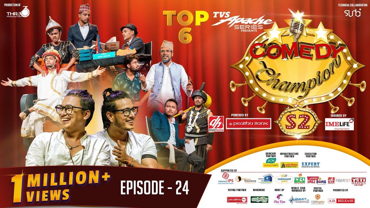 Download Comedy Champion Season 2 - TOP 6 - Episode 24