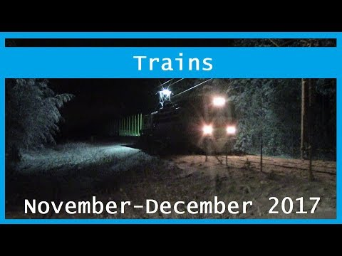 Train videos: November-December 2017