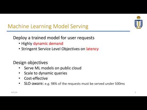 MArk: Exploiting Cloud Services for Cost-Effective, SLO