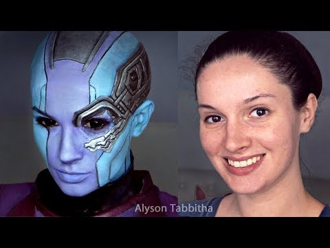 Nebula Makeup Transformation - Cosplay Tutorial