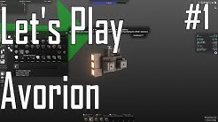 Avorion - Shipbuilding - Let's Play Ep. 1