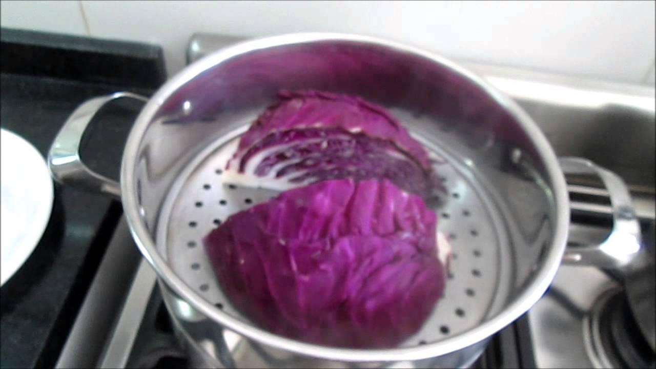 28 repollo colorado morado rojo cocinado al vapor youtube - Repollo en olla express ...