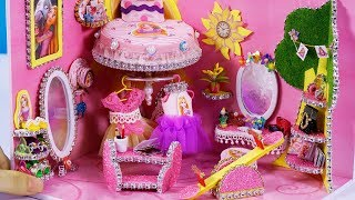 DIY Miniature Dollhouse ~ Rapunzel Room Decor , Shoes , Headphone #65