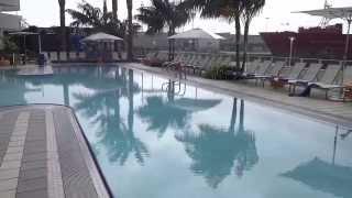 Hilton Bayfront Hotel Pool, San Diego