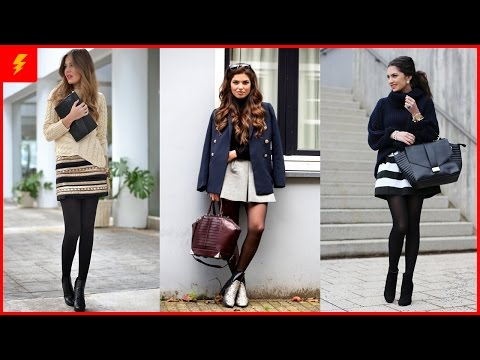 How to Wear Black Tights to Look Fabulous