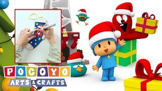 Pocoyo Arts & Crafts: Calcetín navideño de Pulpo | NAVIDAD thumbnail