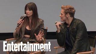 outlander stars caitriona balfe sam heughan spill juicy season 3 details entertainment weekly