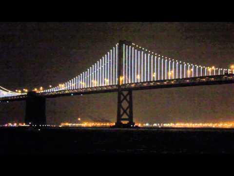 San Francisco-Oakland Bay Bridge lights up the night [news]
