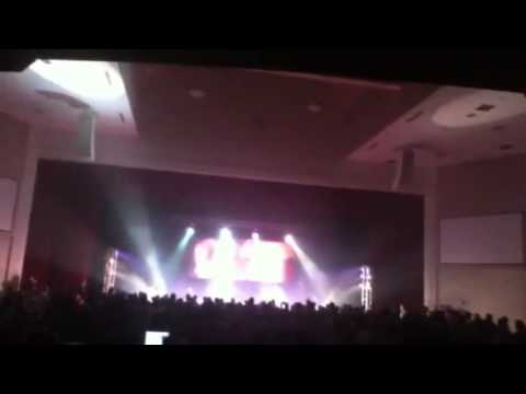Audio Adrenaline opening - Were A Band