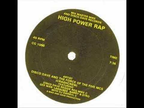CRASH CREW HIGH POWER RAPP