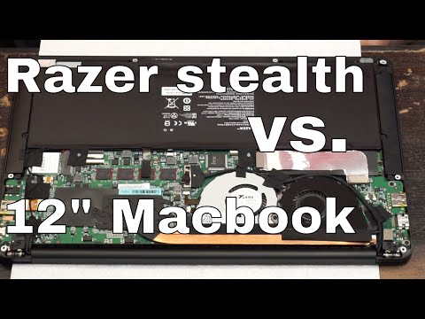 A look at the Razer Stealth laptop vs. New Macbook