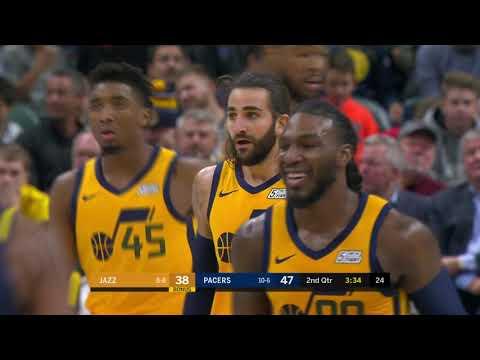 Utah Jazz vs Indiana Pacers | November 19, 2018