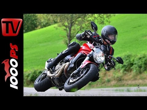 Ducati Monster 821 Test 2014 | Action, Details, Sound