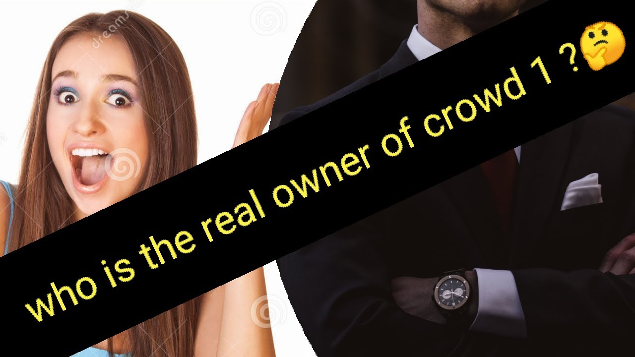 THE real owner of crowd 1 #crowd1# crowd1marketing #crowd1ceo