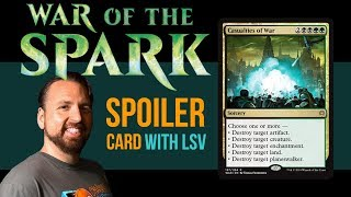 War of the Spark Spoiler Card: Casualties of War