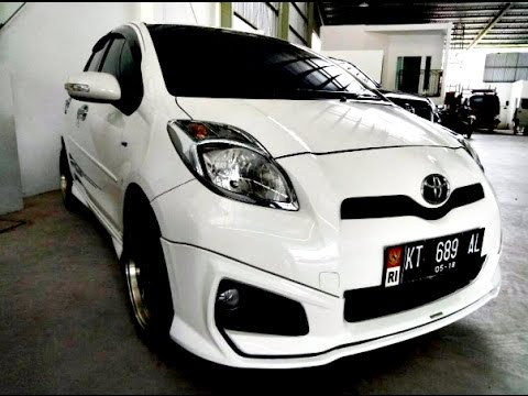 Toyota Yaris Trd Sportivo Manual Interior New Dijual Mobil Tahun 2013 Putih Samarinda Hp 0852 4690 2754