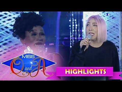 It's Showtime Miss Q & A Resbek: Vice Ganda meets his