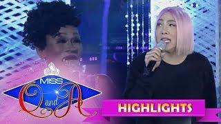 """It's Showtime Miss Q & A Resbek: Vice Ganda meets his """"kosa"""" again"""