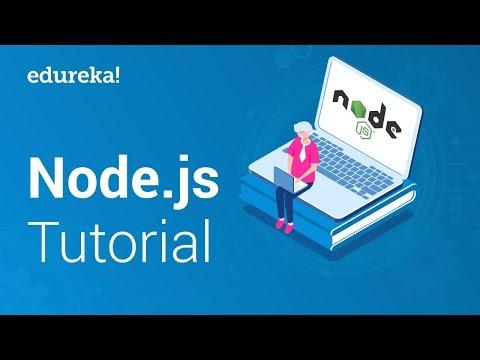 Node.js Tutorial for Beginners | Node.js Crash Course | Node.js Certification Training | Edureka thumbnail