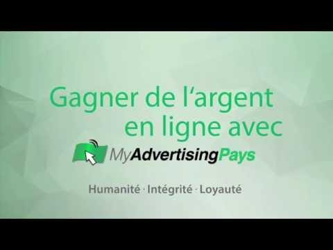 Présentation de My Advertising Pays 2 0 en Français