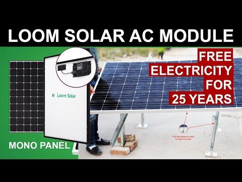 loom-solar-ac-panel---free-electricity-for-25-years