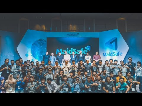 Maidsafe Tech Conference meets Indonesian developers in Jakarta