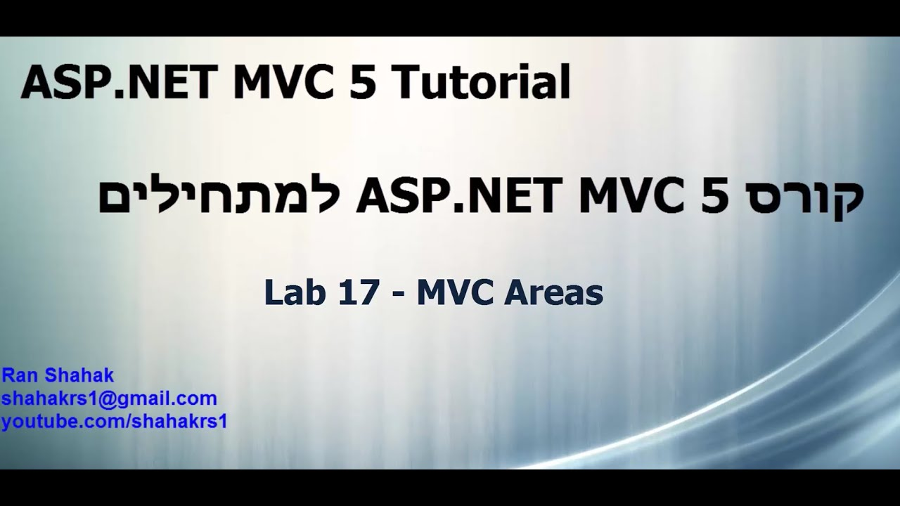 8) partial view in mvc 5   mvc 5 tutorial for beginners in. Net c#.