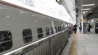 北陸新幹線W7系あさま612号東京駅(終点)到着