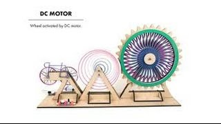 10 useful things from DC motor DIY Electronic Hobby