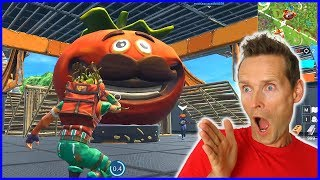Protecting My Tomato Mascot! Food Fight!